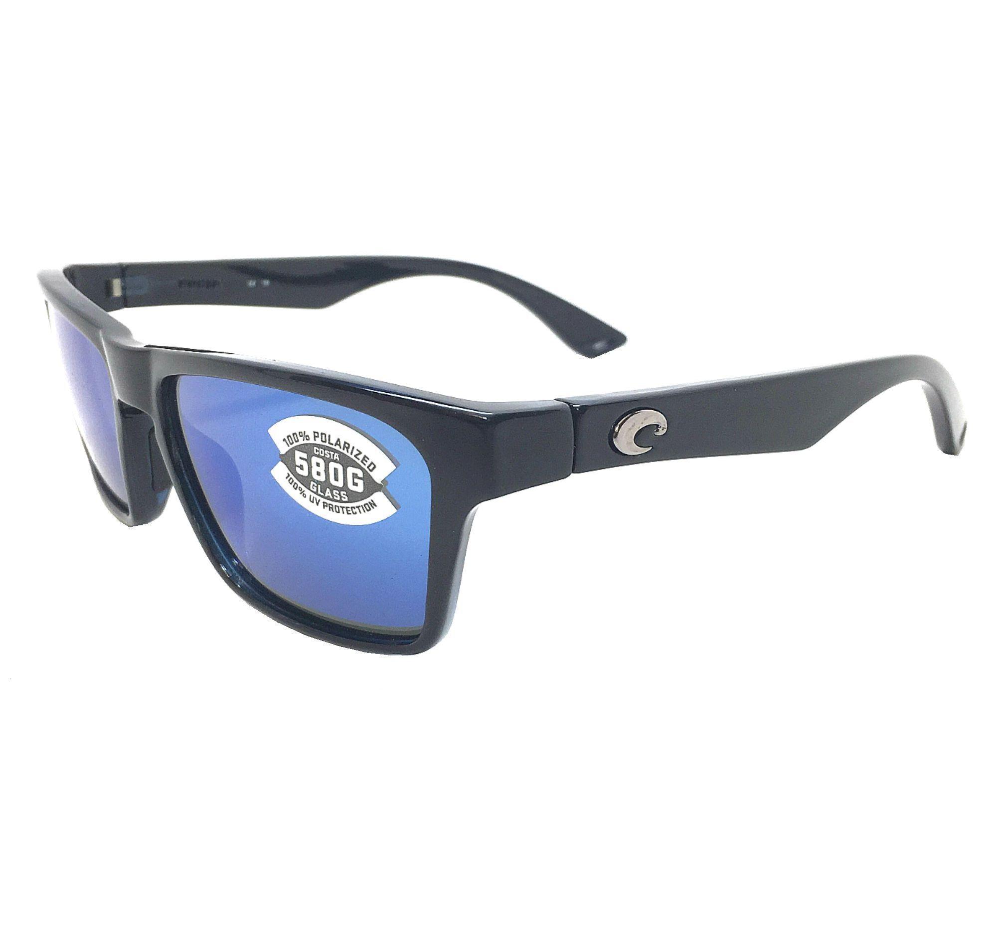 559481ab3a5b7 Costa Del Mar Hinano 580G Black Blue Mirror Polarized Sunglasses ...