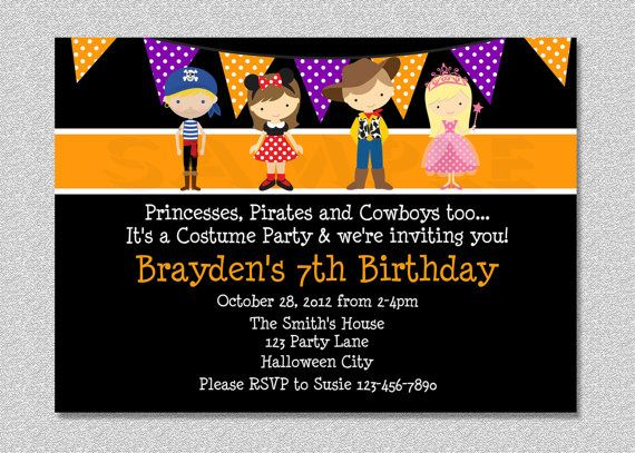Pumpkin Birthday Invitation Fall 1st Birthday Party Invites Boys or