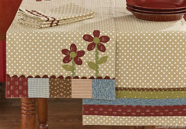 Flower Box Table Runners Quilted Table Runners Quilted Table Toppers Table Runners