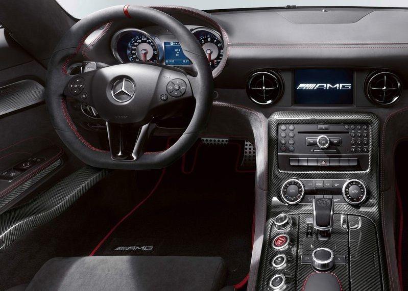 Mercedes Benz Sls Amg Black Series Interior