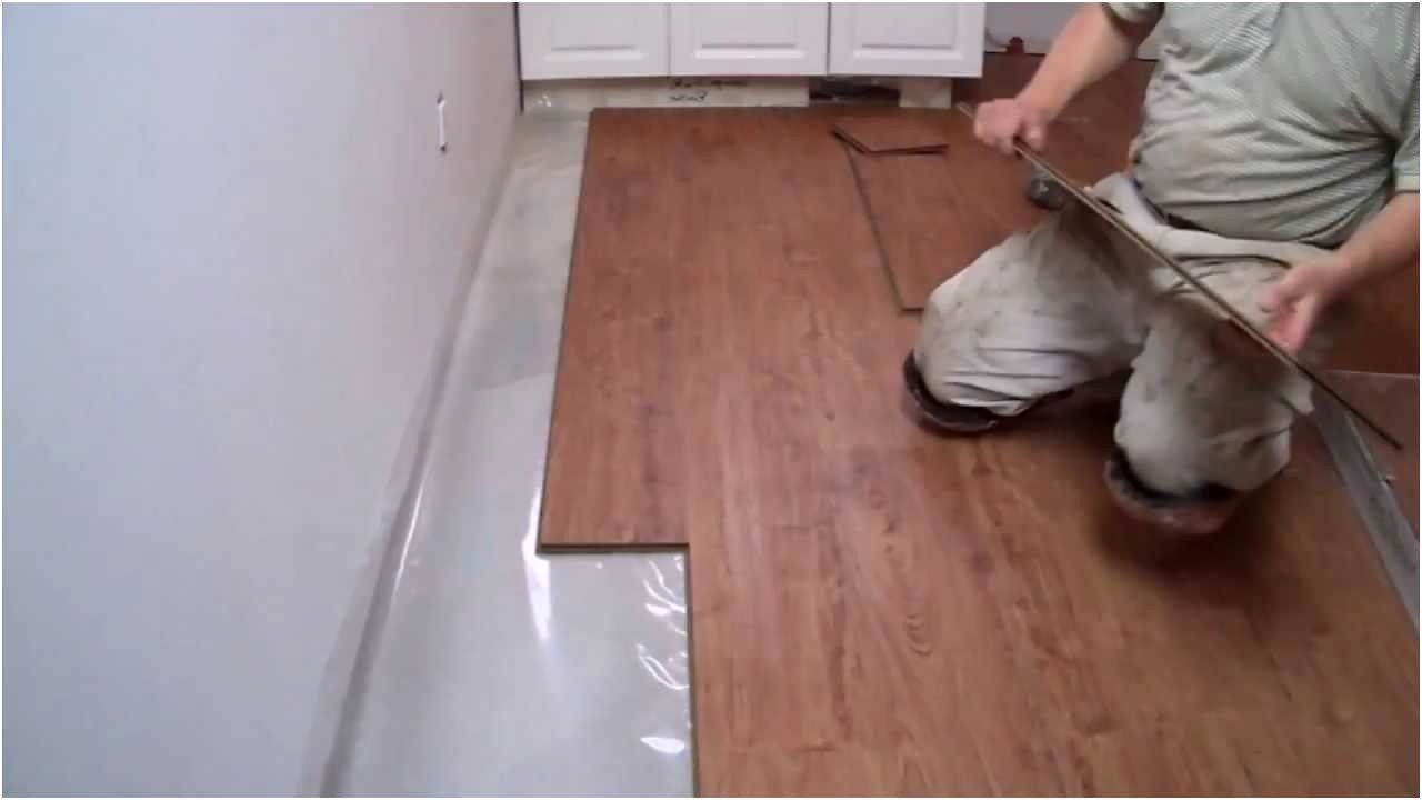 How To Install Laminate Flooring On Concrete In The Kitchen From Installing Basement