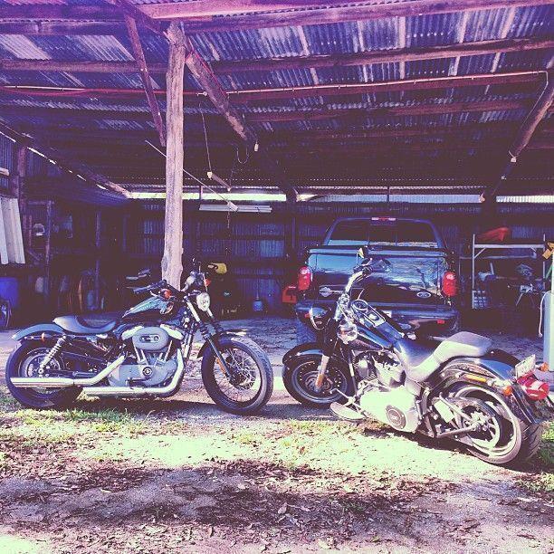 Morning ride Harley Davidson F150 Harley Davidson Nightster Harley