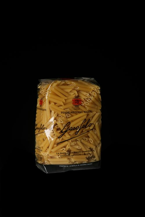 Penne Mezzani Rigate è un formato di Pasta Corta di Pasta Garofalo.  Scopri gli altri formati su: www.pastagarofalo.it