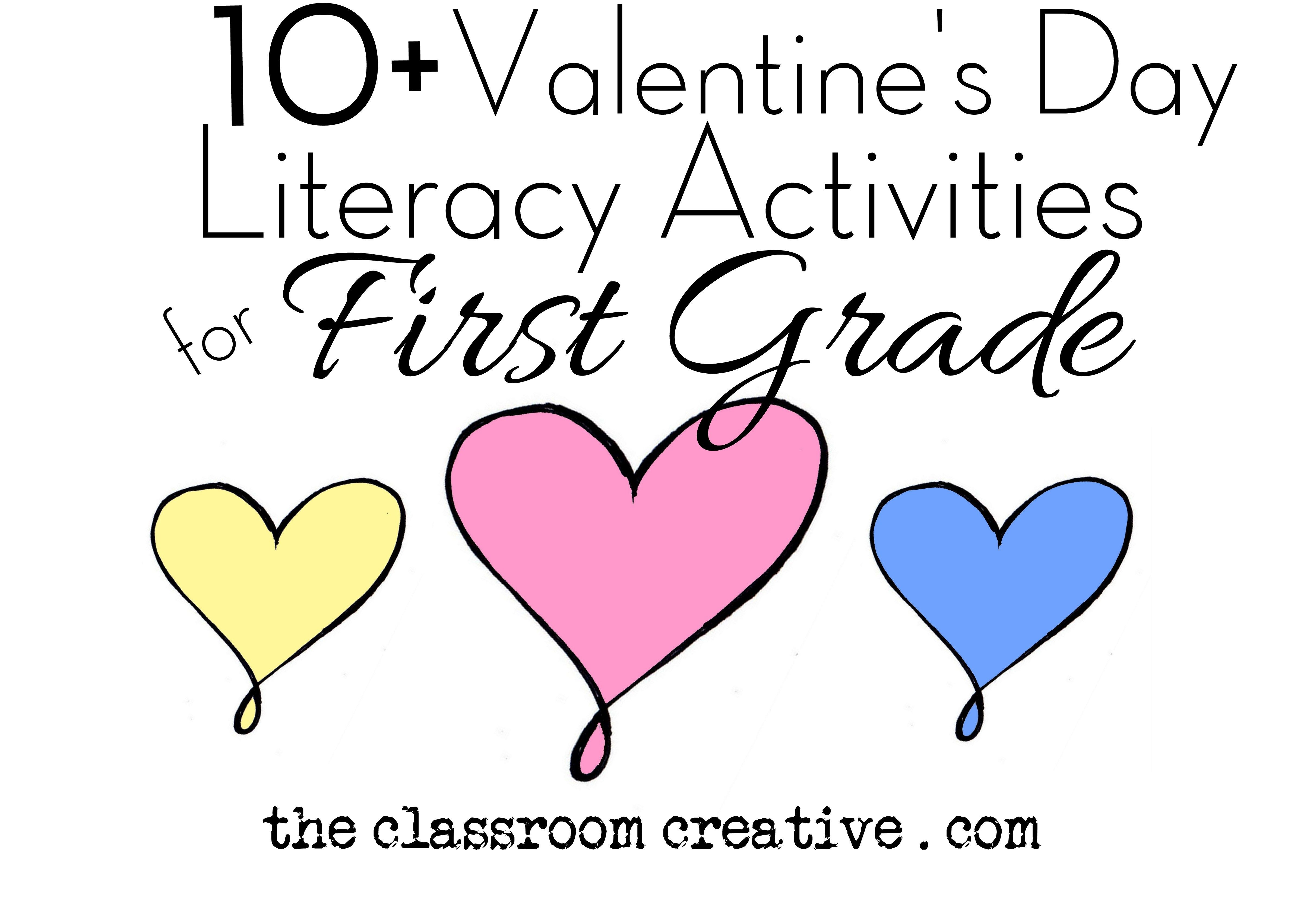 Valentine Art Projects For First Graders Valentines Day