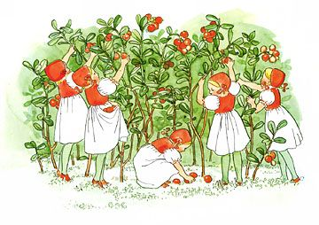 the little nordic cabin: E is for Elsa Beskow
