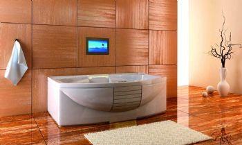 Black Waterproof Bathroom Tv Bathroom Interior Bathroom Accessories Luxury Zen Bathroom