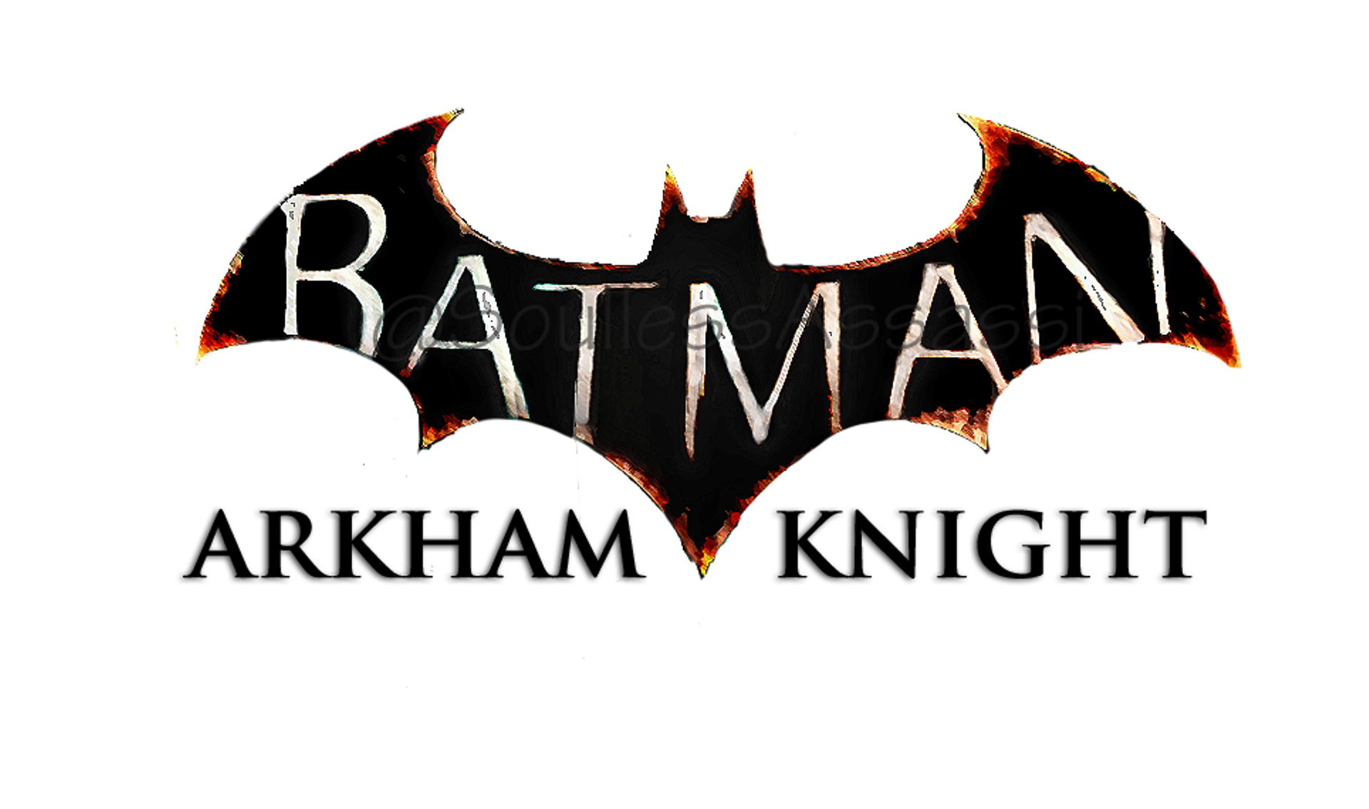 Batman Arkham Knight Logo Background