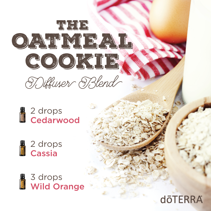 The oatmeal cookie diffuser blend using doterra essential oils the oatmeal cookie diffuser blend using doterra essential oils forumfinder Images