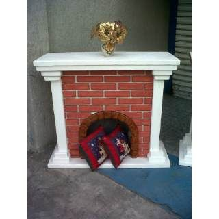 Como hacer chimeneas decorativas navide as buscar con for Chimeneas decorativas falsas