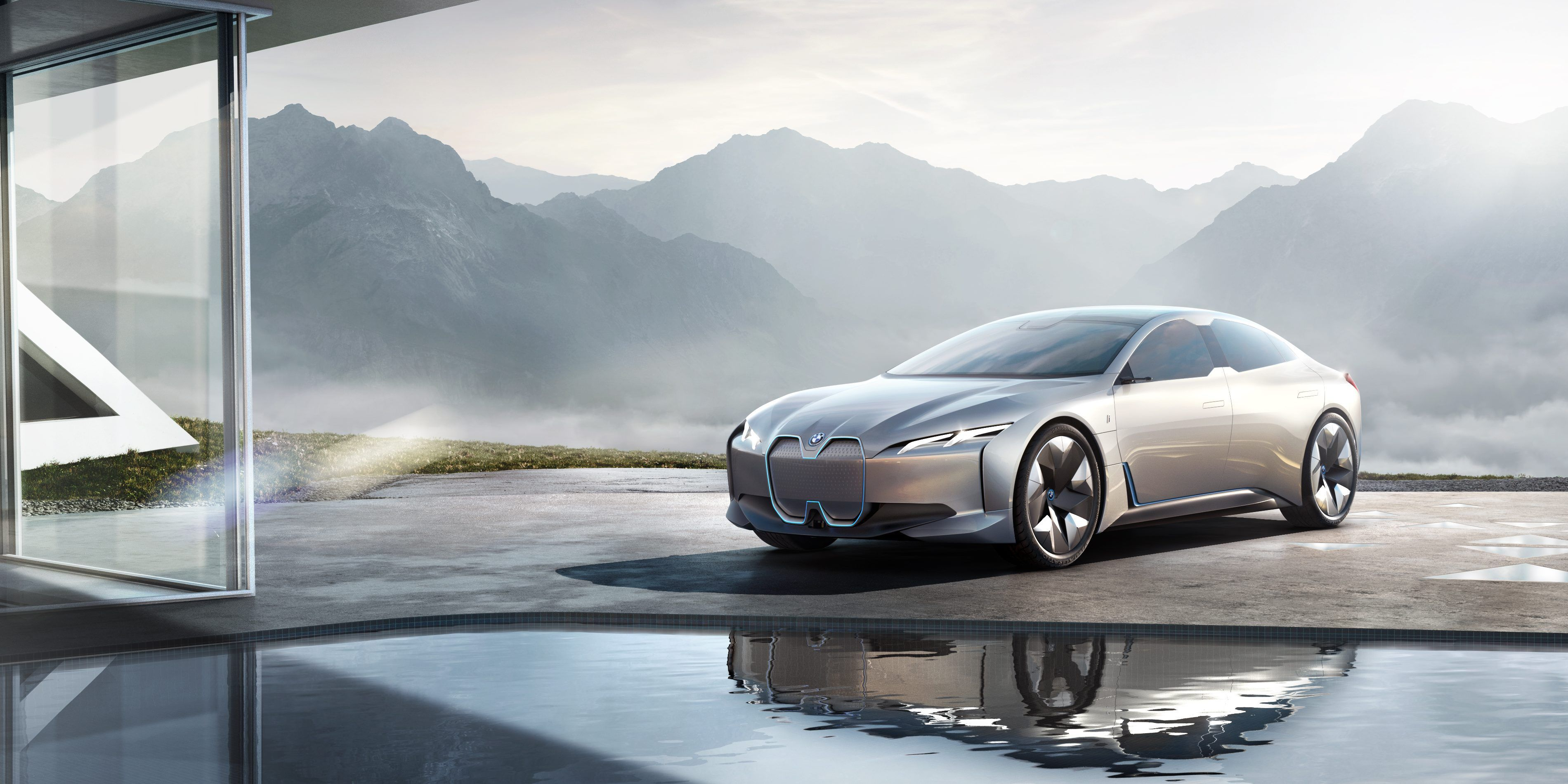 Bmw Confirms New Electric I4 Sedan Coming To Production Based On