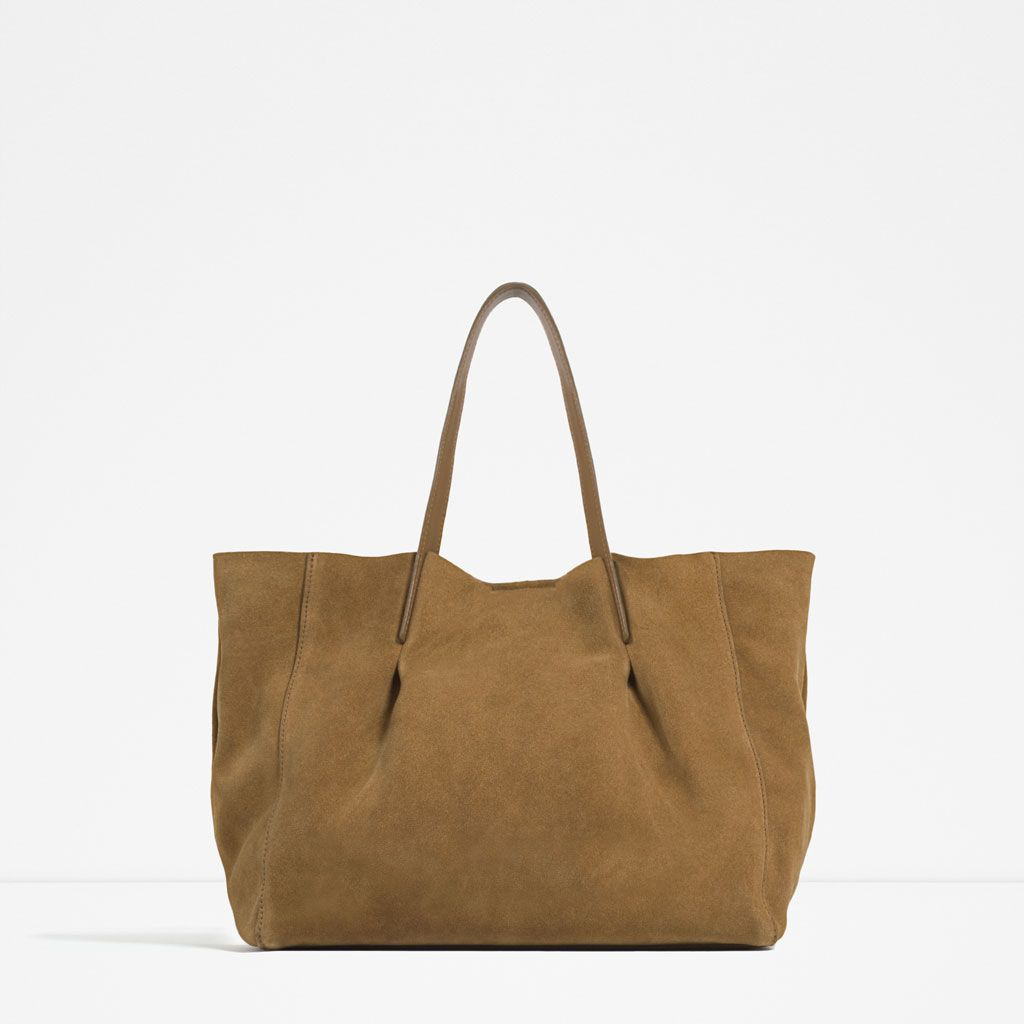 Coach leather hobo bags zara leather tote view all bags woman zara indonesia stopboris Images
