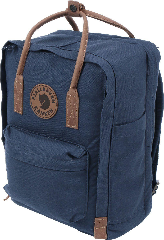 Amazon.com  Fjallraven Kanken No. 2 15IN Laptop Bag Navy 18L  Sports ... 45f93b9616