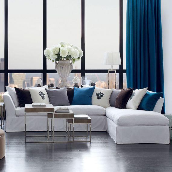 Lamorna Corner Sofa Luxury Furniture Classic Luxury Living Dream Decor