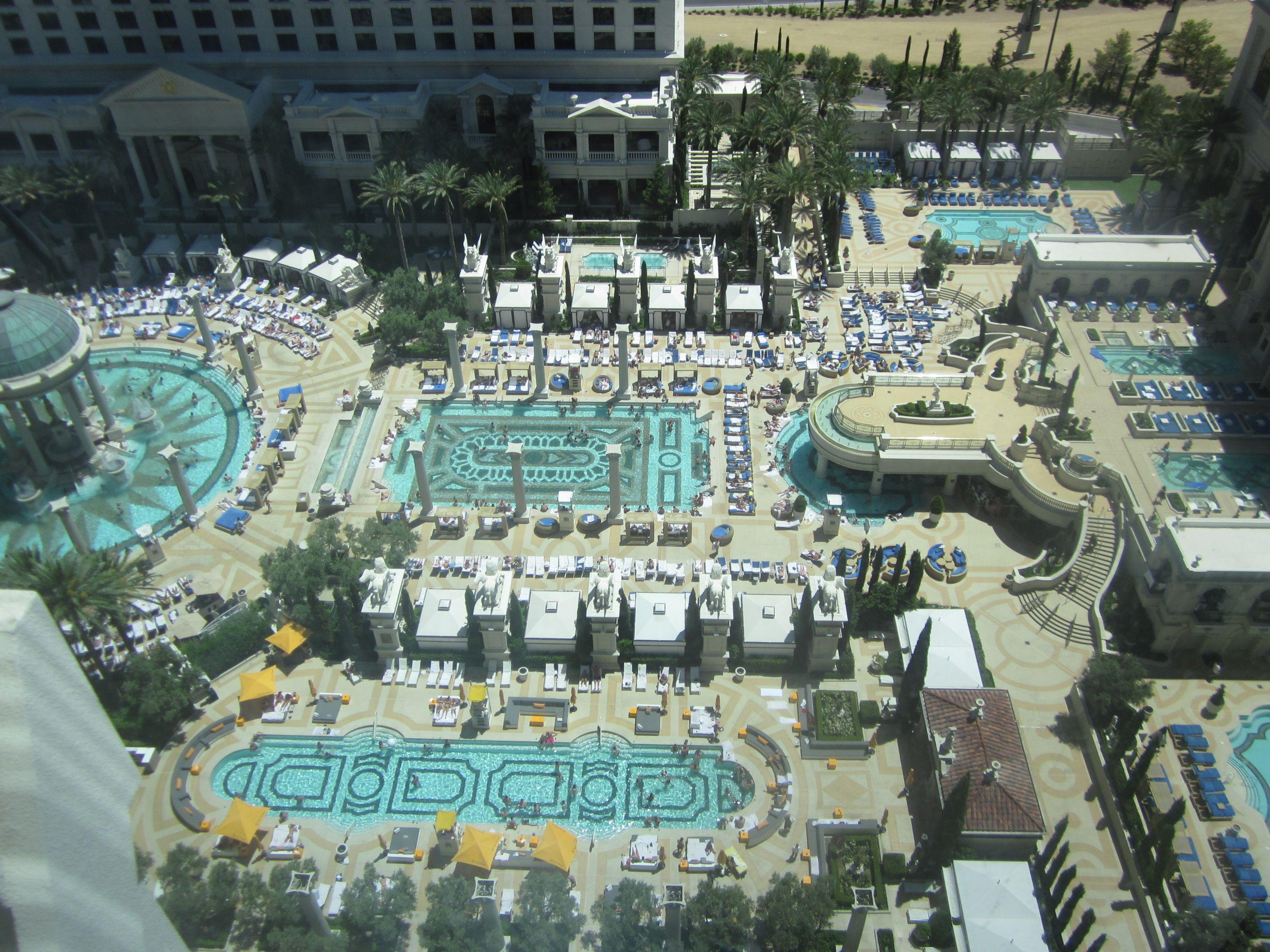 Caesars Palace has ten pools... | Vegas, Baby! | Pinterest | Palace ...
