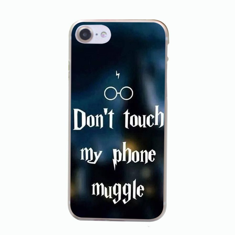 Harry Potter Iphone Wallpaper: Harry Potter Don't Touch My Phone Muggle IPhone Case