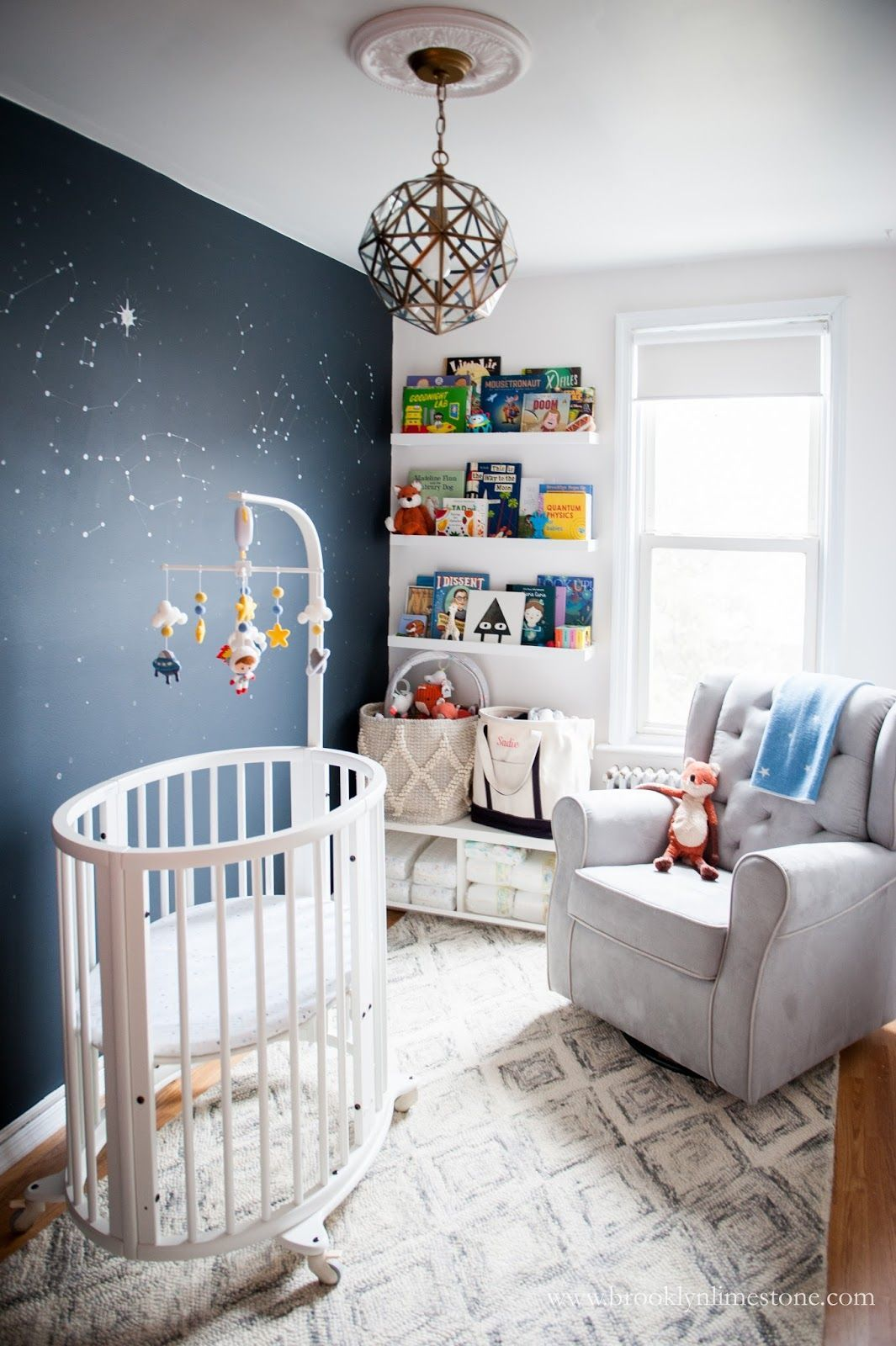 Girl Astronaut Nursery With Images Space Themed Room Nursery