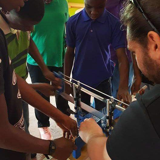 Workshop in Cayenne French Guiana - Atelier à Cayenne Guyane - 2017