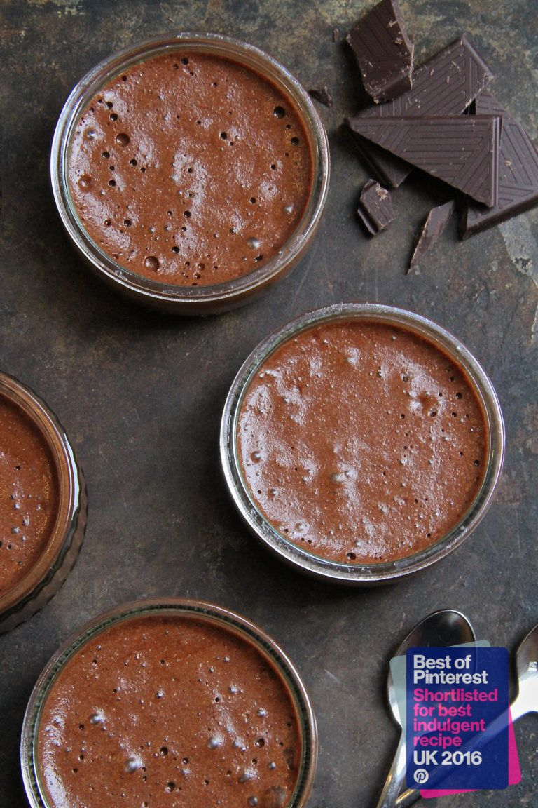 The Best French Chocolate Mousse Recipe- Nominated for Best Indulgent Recipe at the UK Pinterest Food Awards