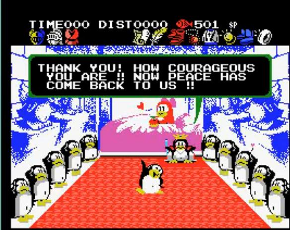 Penguin Adventure, Kojima's first game as designer  | Hideo