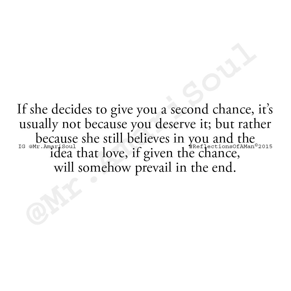 Quotes About 2nd Chances In Relationships