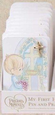 Boy Prayer Card with Pin - Card, Prayer