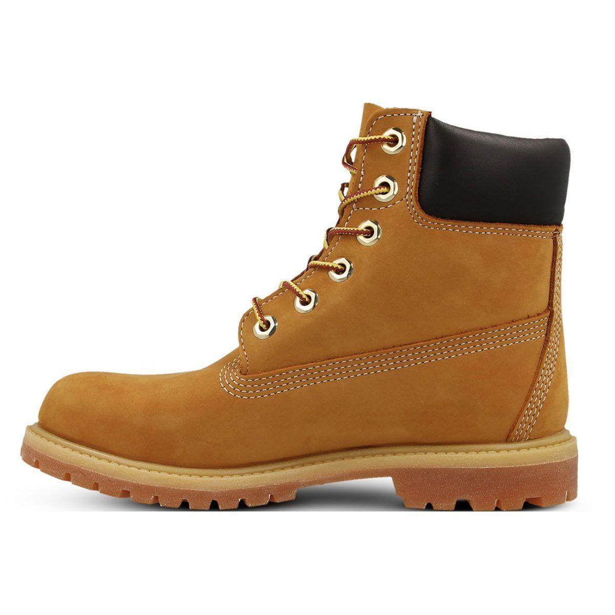 Buty Timberland Premium 6 Inch Jr 10361 Zolte Timberland Shoes Women Timberland Premium Timberland