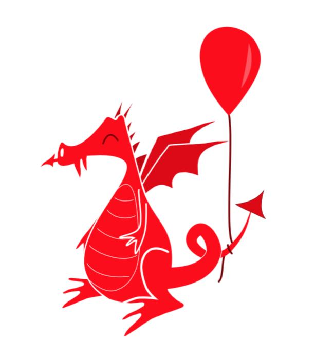 Cute Welsh Dragon Birthday Card Penblwydd Hapus Cardiau Etsy Welsh Dragon Dragon Birthday Birthday Cards