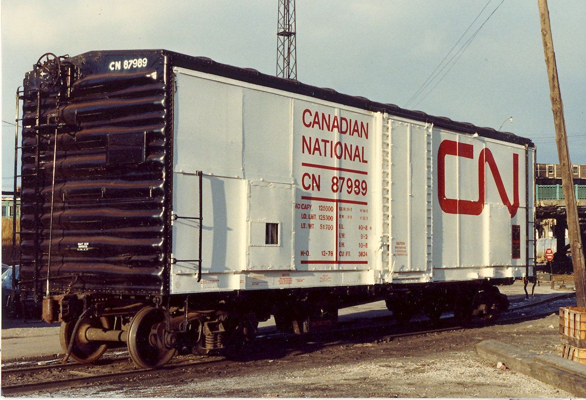 CN 87989 What is it? in 2019 Canadian national railway