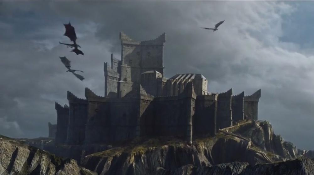 Game of Thrones Dragonstone Castle