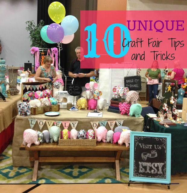 10 unique craft fair tips and tricks great list diy fun