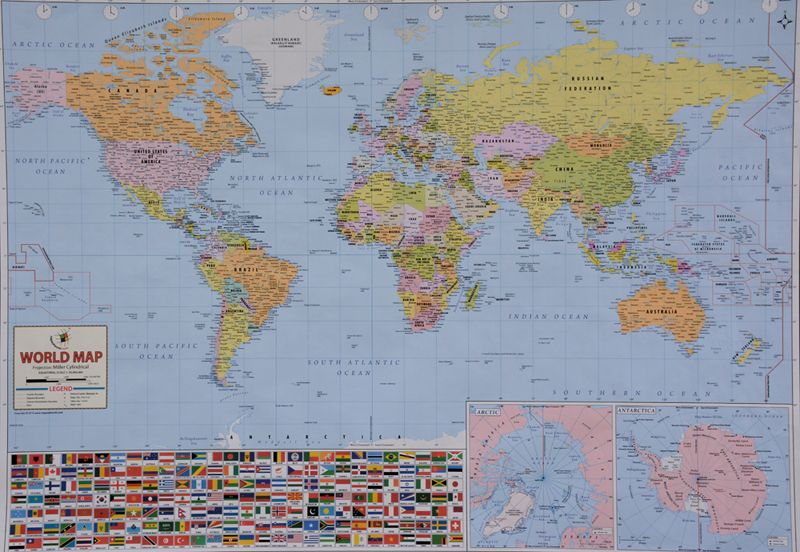 World Map Poster Maps \ Globes Pinterest - new unique world map poster