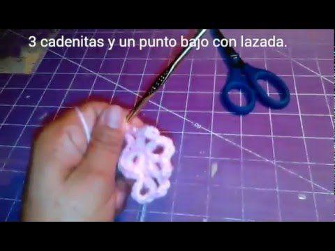 Como Hacer Un Clavel Tejido a Crochet