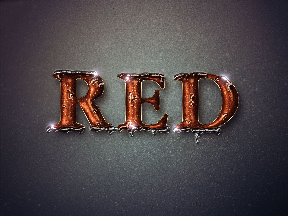 Glittering red and melting ice text effect photoshop dynamic glittering red and melting ice text effect by textuts tutorials learn photoshop and create numerous text effects for design work baditri Gallery