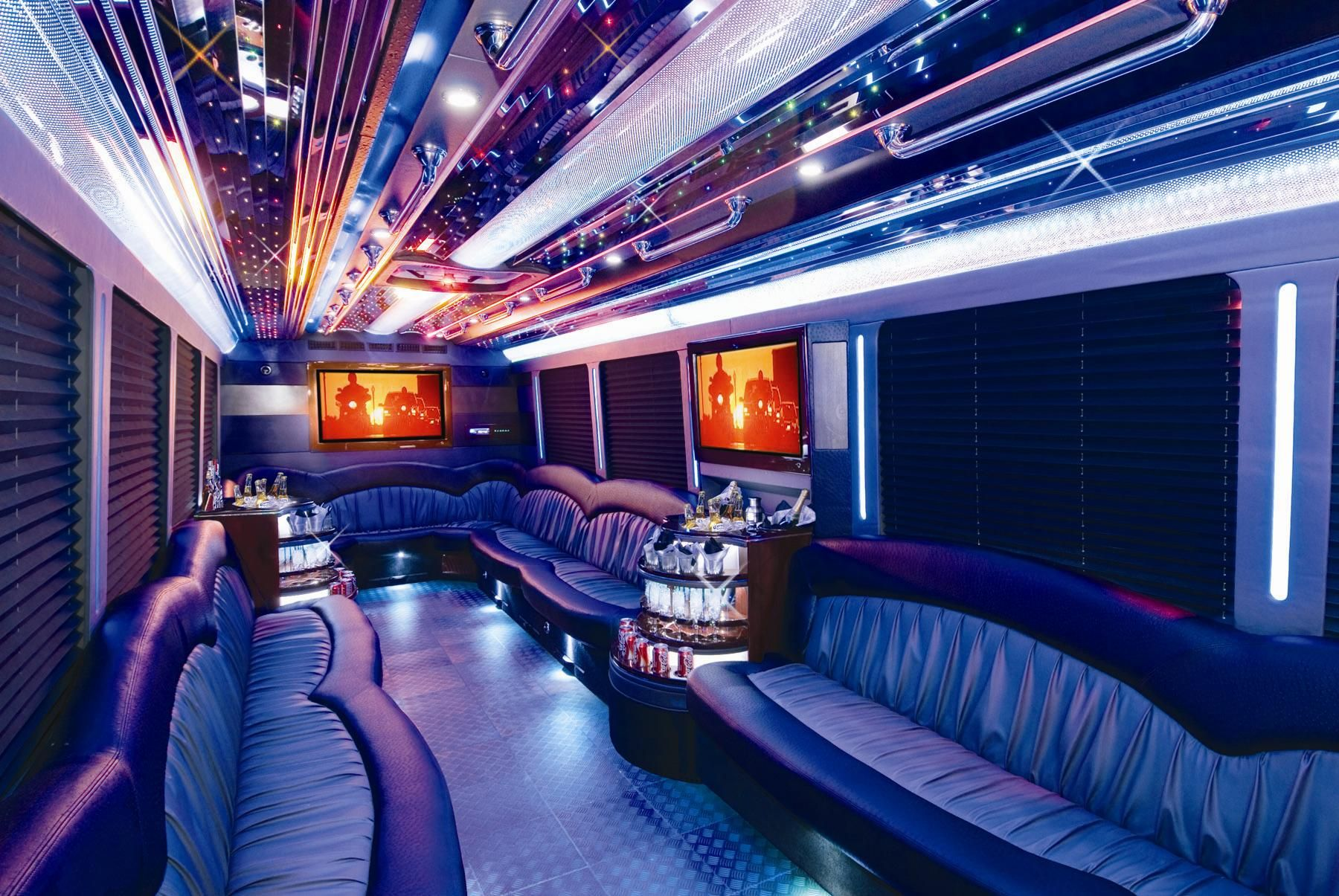 Have A Party Of 30 32 People Outfitted With Class Our Bus Can Fit Your Needs Www Megacity Com Party Bus Limo Limo Bus