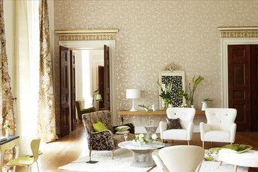 beige wallpaper living room - Cerca con Google