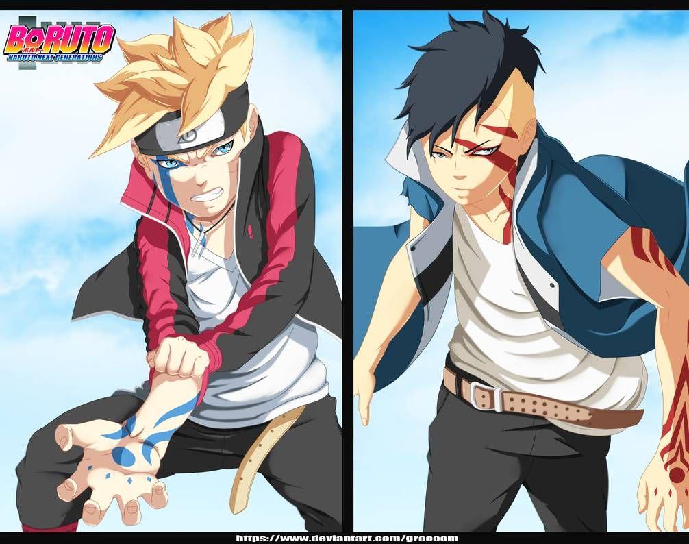 Boruto 25 Boruto Vs Kawaki By Groooom On Deviantart Boruto Anime Anime Naruto
