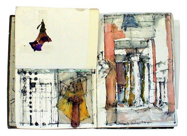 Nurhan Gokturk's Venetian sketchbook