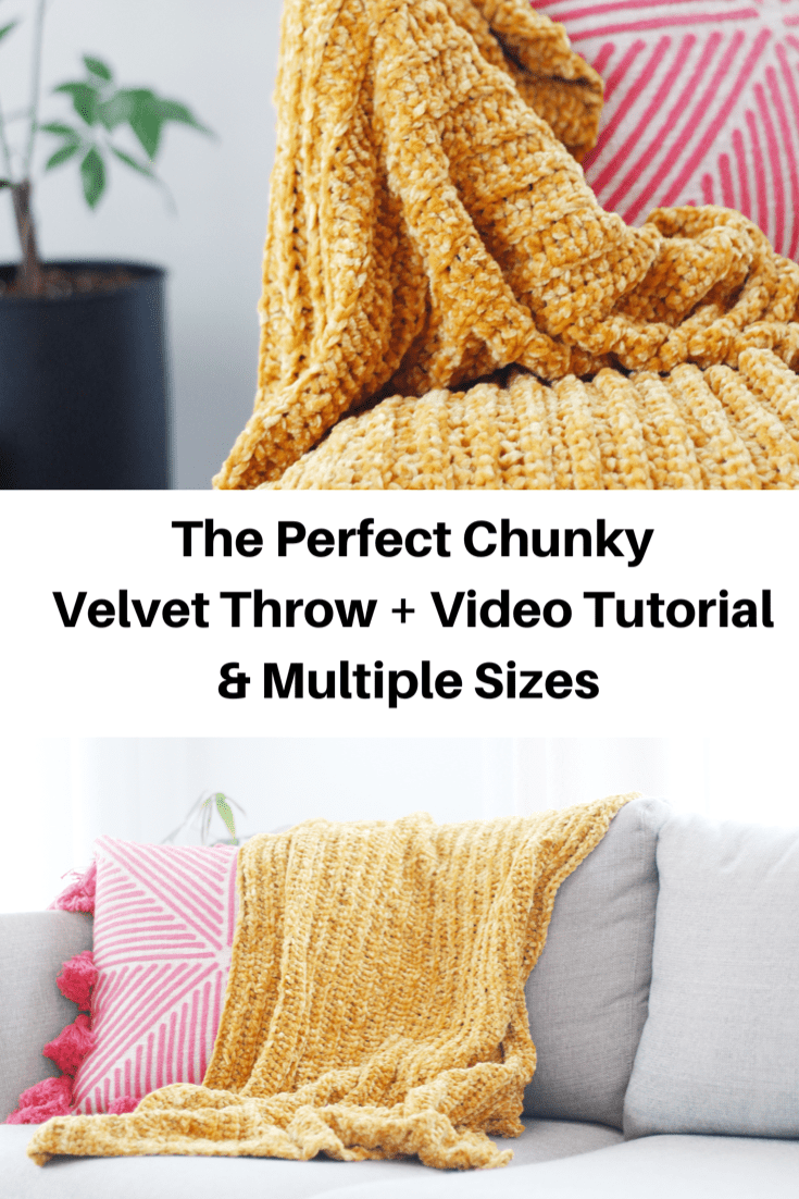Photo of Chunky Crochet Baby Blanket with FREE PATTERN!