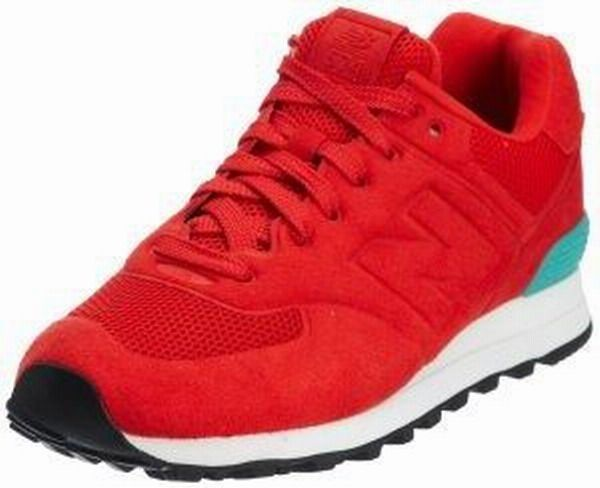 Joes New Balance 574 WS574RTO Red Water Blue Sonic Womens Shoes