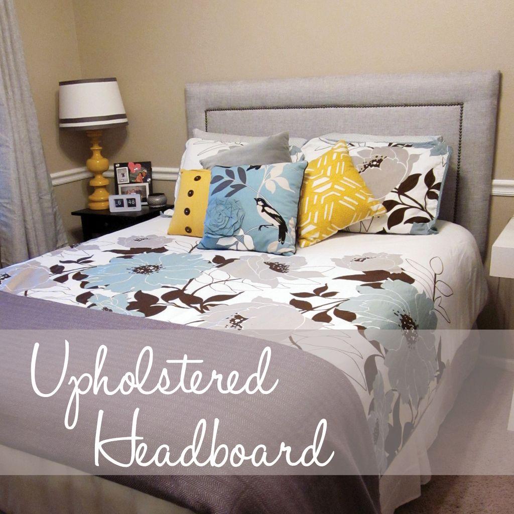 Katie Nordquist | blog | DIY: Upholstered Headboard & Katie Nordquist | blog | DIY: Upholstered Headboard | D.I.Y. ... pillowsntoast.com