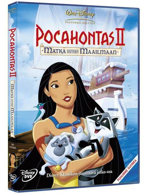 Pocahontas 2, Matka uuteen maailmaan -dvd