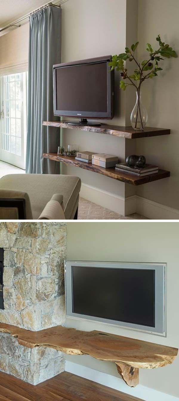 Live Edge Tv Stand Live Edge Wood Home Decor Easy Home Decor