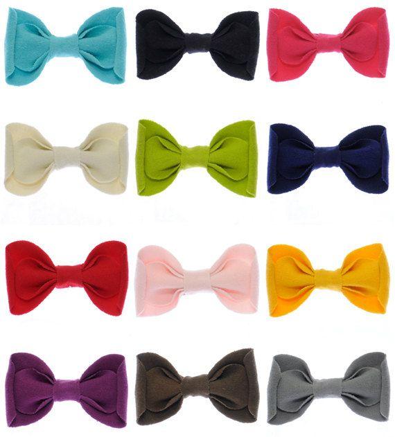 pick six cute cotton clips.