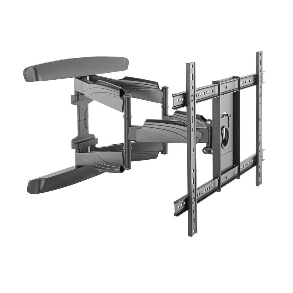 monster mounts large premium full motion tv wall mount for on tv wall mounts id=21474