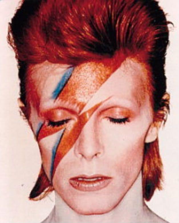 David Bowie Makeup Glam Rock
