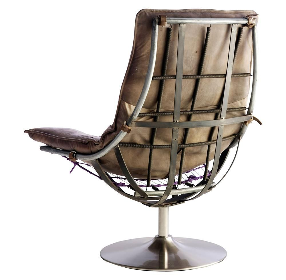 70 Industrial Accent Chair