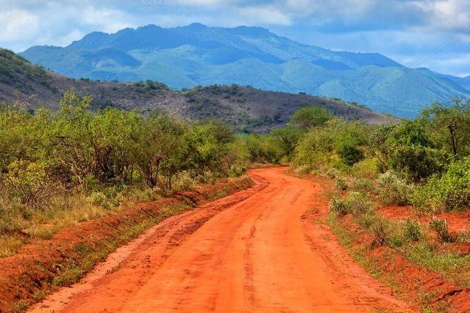 Savanna Landscape Tsavo West By Photocreo Michal Bednarek On
