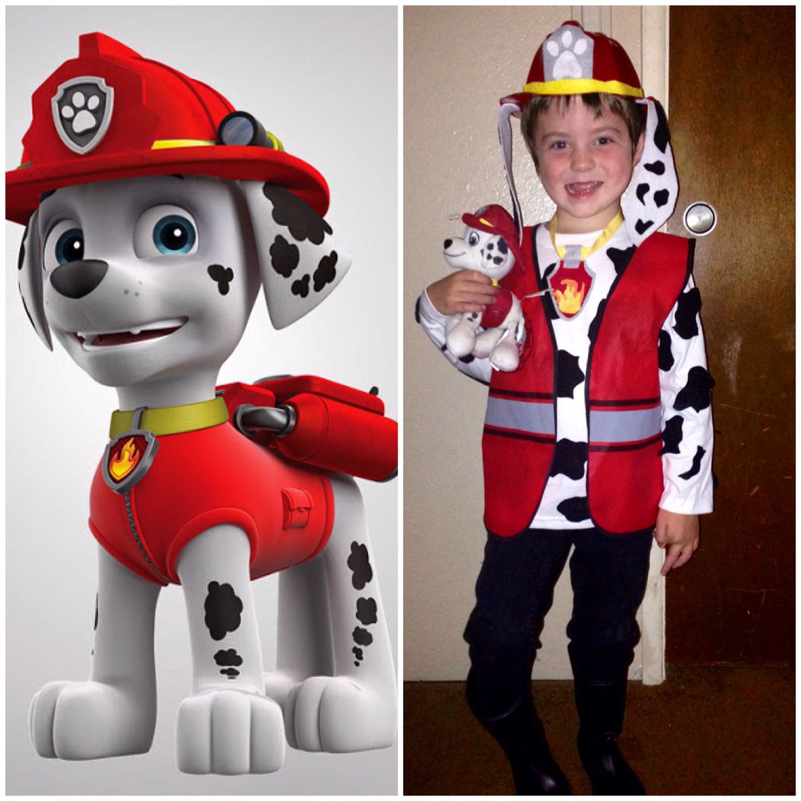 DIY Paw Patrol Marshall costume | Halloween | Pinterest | Paw ...