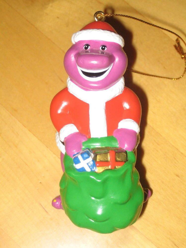 Barney Christmas Ornament Purple Dinosaur | christmas | Pinterest ...