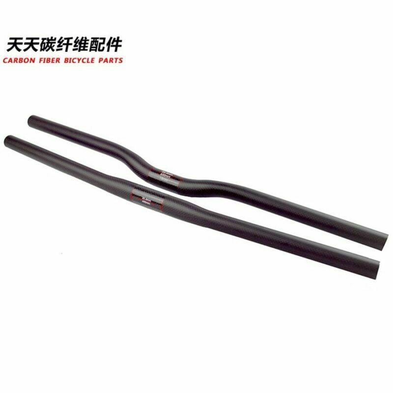 handbar full Carbon Fiber 25.4MM MTB mountain track road Bike Bar Handlebar